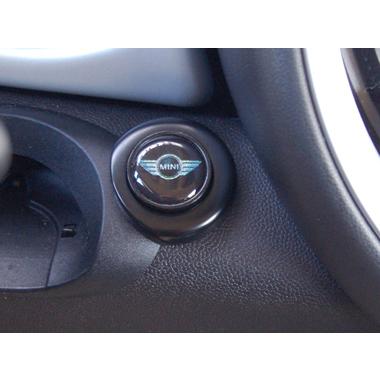 エンジンスタートボタン スタートスイッチカバー MINIロゴマーク