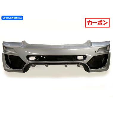 BUSINESSMAN GTA リアバンパー 【カーボン】