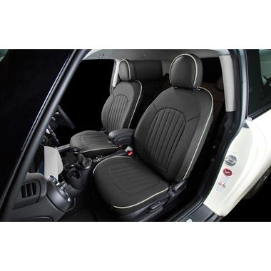 CABANA 新型MINI(F56/F55/F54) シートカバー パークレーンカーボンスタイル(フルセット)